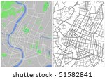 vector map of bangkok | Shutterstock .eps vector #51582841