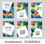 abstract vector layout...   Shutterstock .eps vector #515835811