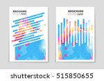abstract vector layout... | Shutterstock .eps vector #515850655