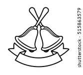 bell of christmas season design   Shutterstock .eps vector #515863579