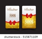 collection of christmas gift... | Shutterstock .eps vector #515871109