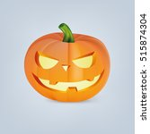 vector illustration of orange... | Shutterstock .eps vector #515874304