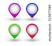 illustration of mark icon.... | Shutterstock .eps vector #515877589