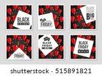 abstract vector black friday... | Shutterstock .eps vector #515891821