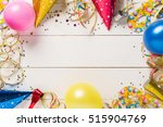 decoration for the party.... | Shutterstock . vector #515904769
