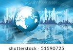 best concept of global business | Shutterstock . vector #51590725