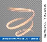 Light Trace Effect. Light...