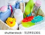 organic cosmetic children for... | Shutterstock . vector #515931301