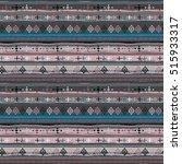 ethnic boho seamless pattern.... | Shutterstock . vector #515933317
