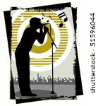 singer vector | Shutterstock .eps vector #51596044