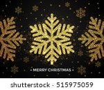 background with golden... | Shutterstock .eps vector #515975059