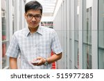 portrait of a young male...   Shutterstock . vector #515977285