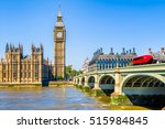 big ben and house of parliament ... | Shutterstock . vector #515984845