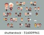 office people working | Shutterstock .eps vector #516009961