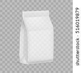 transparent blank plastic or... | Shutterstock .eps vector #516019879