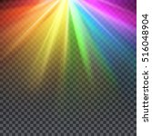 rainbow glare spectrum with gay ... | Shutterstock .eps vector #516048904