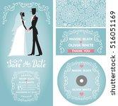 wedding invitation set.winter...
