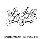 black and white handwritten... | Shutterstock . vector #516052141