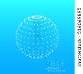 science concept design.... | Shutterstock .eps vector #516069895