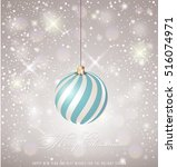 christmas ball.vector   Shutterstock .eps vector #516074971