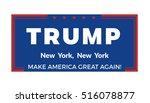 november 14  2016. donald trump ... | Shutterstock .eps vector #516078877