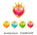 beautiful precious decorative... | Shutterstock .eps vector #516081349