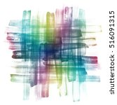 abstract hand drawn watercolor... | Shutterstock . vector #516091315