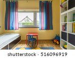 modern room with colourful... | Shutterstock . vector #516096919