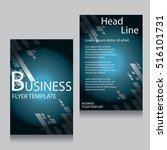 vector brochure flyer design...   Shutterstock .eps vector #516101731