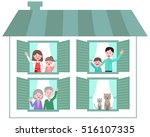 home and family | Shutterstock .eps vector #516107335