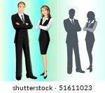 business team | Shutterstock .eps vector #51611023