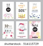 sale banners collection for... | Shutterstock .eps vector #516115729