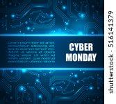 sale technology banner for... | Shutterstock .eps vector #516141379