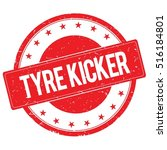 tyre kicker stamp sign text... | Shutterstock . vector #516184801