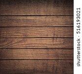brown wooden planks  tabletop ... | Shutterstock . vector #516193021