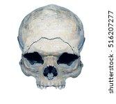 abstract human skull  on...   Shutterstock . vector #516207277