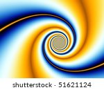Color Spiral Abstract
