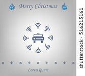 wifi in car icon | Shutterstock .eps vector #516215161