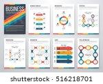 infographic vector set.... | Shutterstock .eps vector #516218701