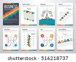 infographic vector set.... | Shutterstock .eps vector #516218737