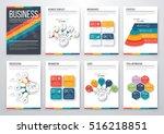 infographic vector set.... | Shutterstock .eps vector #516218851