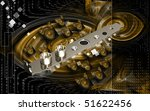 digital illustration of video... | Shutterstock . vector #51622456
