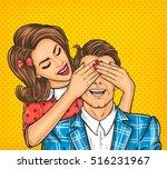 Vector Pop Art Illustration Of...