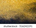 golden glitter sand texture on...