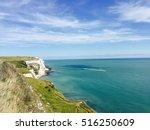 the white cliffs of dover  ...   Shutterstock . vector #516250609