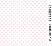 seamless heart pattern. ideal... | Shutterstock .eps vector #516258919