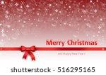 christmas card  christmas... | Shutterstock . vector #516295165