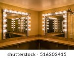 back stage theater dressing... | Shutterstock . vector #516303415