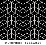 abstract geometric hipster... | Shutterstock .eps vector #516313699