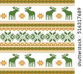 scandinavian style seamless ...   Shutterstock .eps vector #516317689